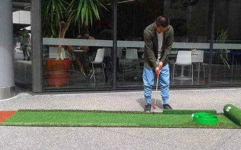 portable mini golf putting