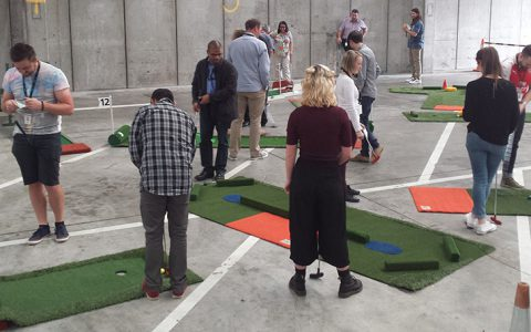 work function fun portable mini golf